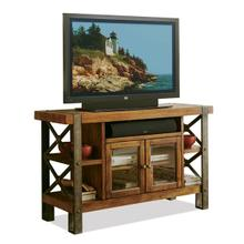 Sierra 52-Inch TV Console Landmark Worn Oak finish