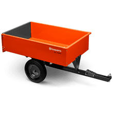 12 Cu. Ft. Steel Swivel Dump Cart
