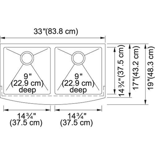 Kinetic FFD33B-9-18 SilkSteel