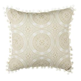 Valencia Pillow - Taupe / Beige