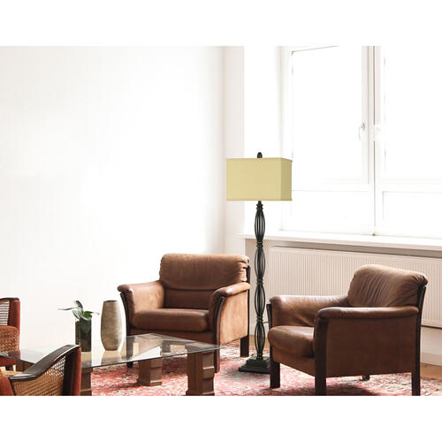 150W 3 Way Mondovi Metal Floor Lamp