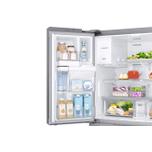 Samsung Appliances 23 cu. ft. Counter Depth 4-Door French Door Refrigerator in Stainless Steel