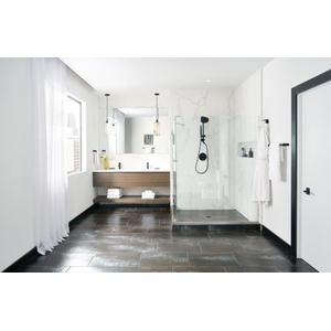 Align matte black posi-temp® tub/shower valve only