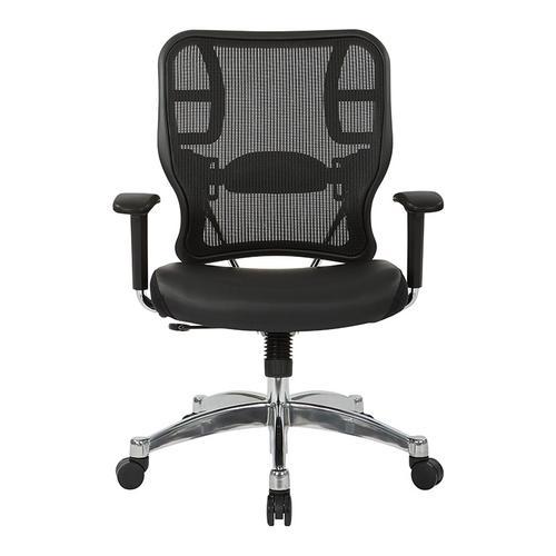 Office Star - Black Vertical Mesh Back Chair