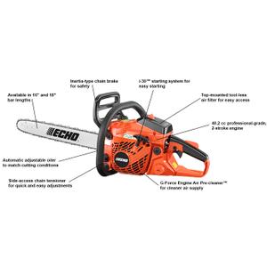 ECHO CS-400 40.2cc Easy-Starting Chain Saw