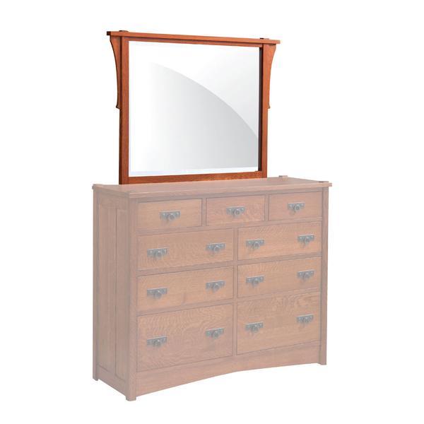 """Grant Mule Chest Mirror, 46 1/2""""w"""