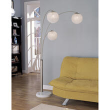 "82""h 3 Arm Arc Lamp"