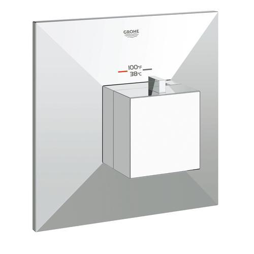 Product Image - Allure Brilliant Custom Shower Thermostatic Valve Trim