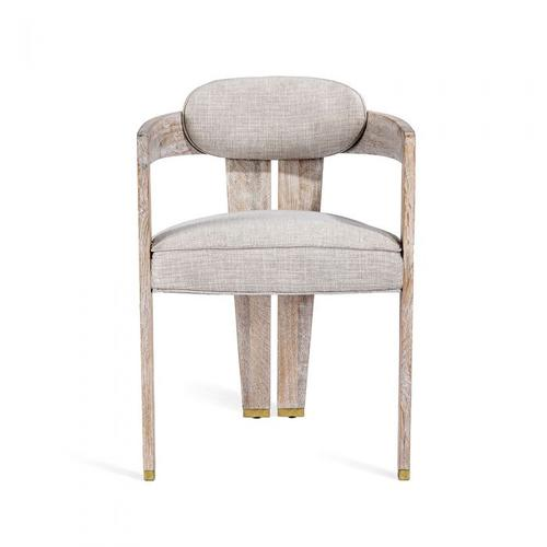 Maryl II Dining Chair - Cream Linen