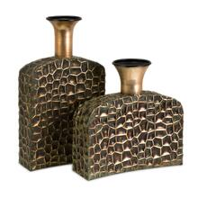 Liana Reptilian Angular Bottles - Set of 2