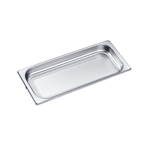DGG 20 - Unperforated steam oven pan for cooking food in gravy, stock, water (e.g. rice, pasta).