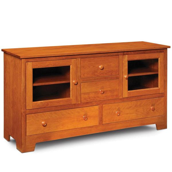 """See Details - Shaker TV Stand, 61 """"w x 18 """"d x 33 """"h"""
