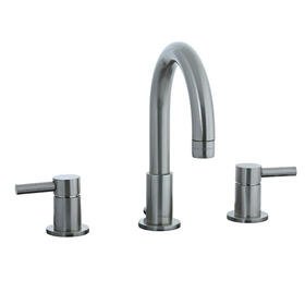 Techno - 3 Hole Widespread Lavatory Faucet - Brushed Nickel