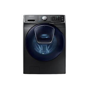 Samsung Appliances4.5 cu. ft. Smart Front Load Washer with AddWash™ in Black Stainless Steel