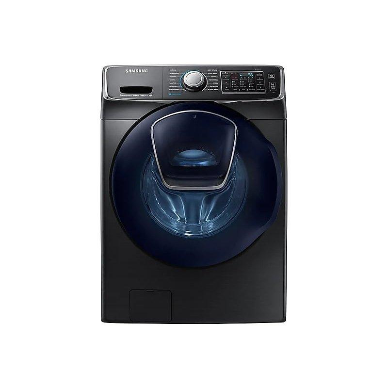 4.5 cu. ft. Smart Front Load Washer with AddWash(TM) in Black Stainless Steel
