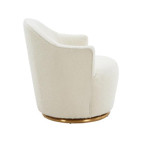 Tov Furniture - Skyla Boucle Swivel Chair