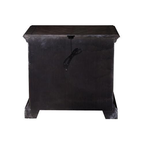 Pulaski Furniture - Bedford Heights 3 Drawer USB Charging Nightstand in Estate Brown