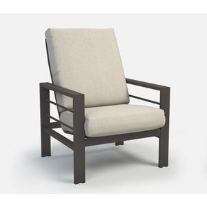 High Back Chat Chair - Cushion