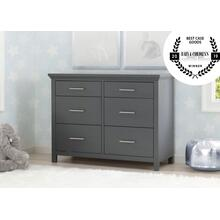 Avery 6 Drawer Dresser - Charcoal Grey (029)