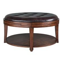 Round Cocktail Table (w/casters)