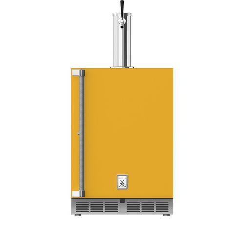"Hestan - 24"" Hestan Undercounter Single Faucet Beer Dispenser - GFDS Series - Sol"