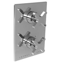 Cross handle thermostatic with cross handle flow control trim only, to suit K1-4201 rough