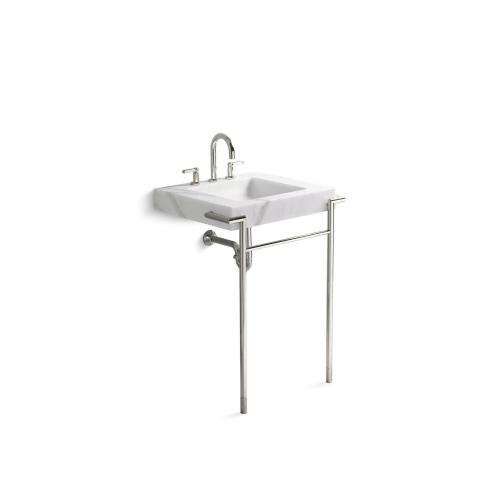 P7420800ad In Nickel Silver By Kallista In Irvine Ca Console Table Legs With Towel Bar Nickel Silver