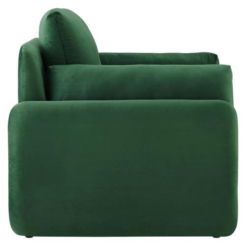 Modway - Indicate Performance Velvet Armchair in Emerald