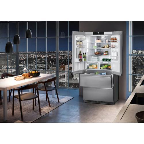 """Liebherr CBS2082     36"""" Fridge-freezer with BioFresh and NoFrost"""