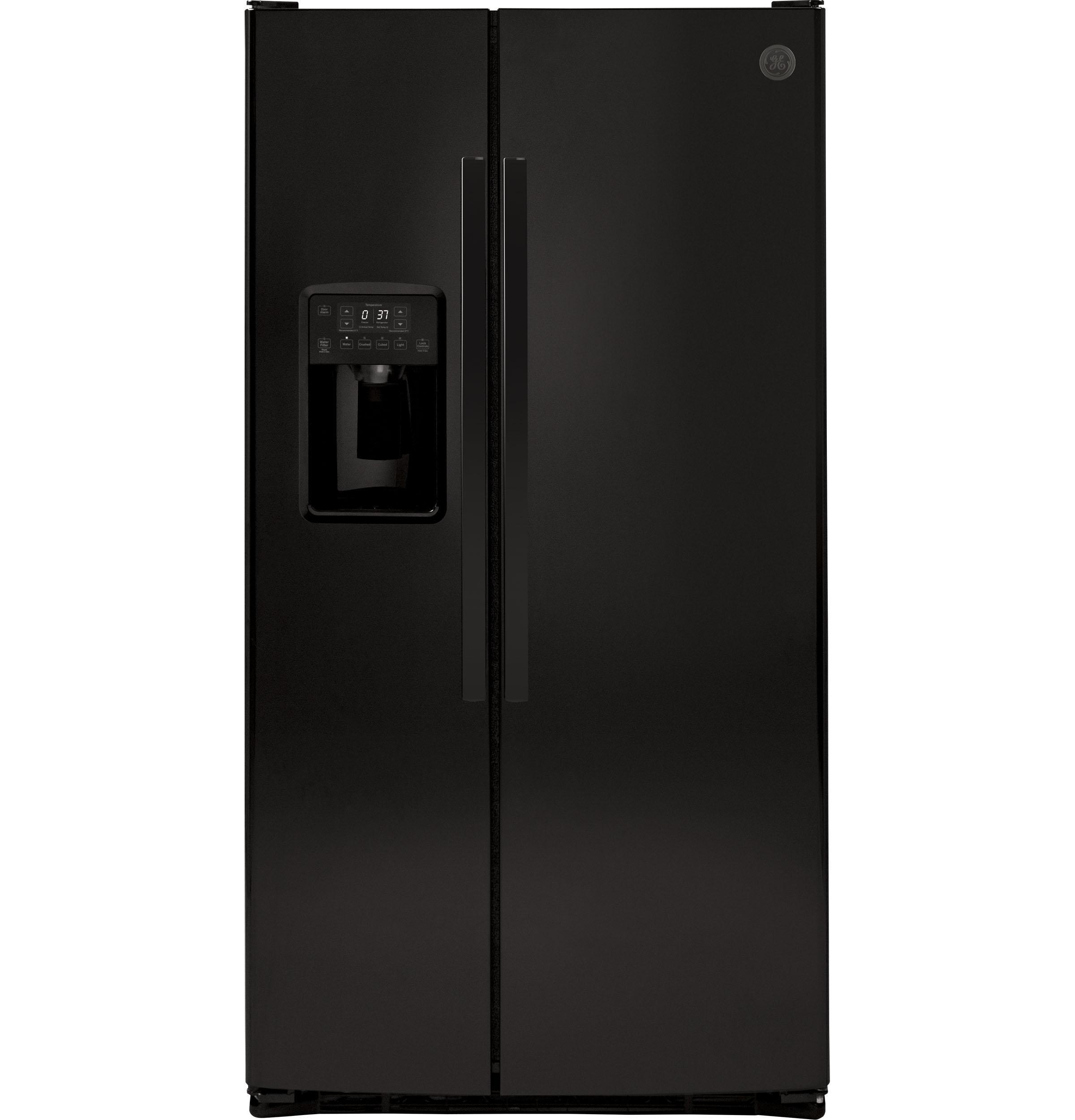 GE25.3 Cu. Ft. Side-By-Side Refrigerator