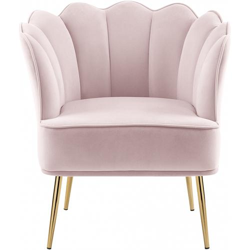 "Jester Velvet Accent Chair - 29"" W x 29"" D x 29.5"" H"