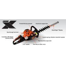 See Details - NEW ECHO X Series HC-2810 Gas Powered Hedge Trimmer Professional Hedge Cutters