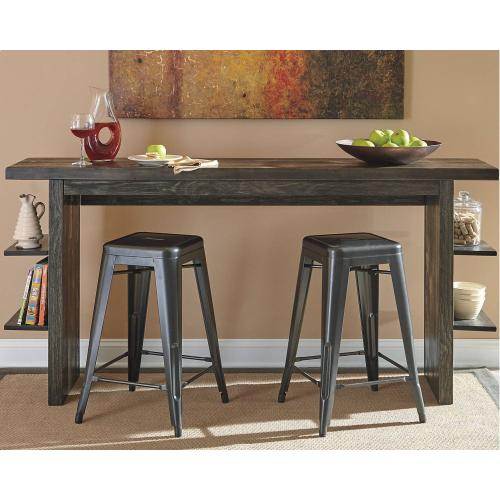 Long Counter Table w/ 2 Chairs