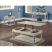 See Details - Hemingway 3-Piece Cocktail Table Set (Lift-Top Cocktail & Two End Tables)