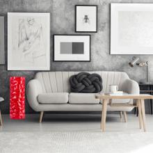See Details - Textured Vase // Large Red