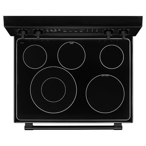 Gallery - Maytag® 30-Inch Wide Electric Range With True Convection And Power Preheat - 6.4 Cu. Ft. - Black