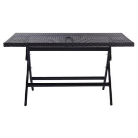Akita Folding Table - Black