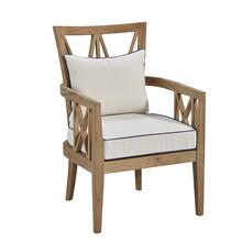 Tristan Teak Outdoor Arm Chair