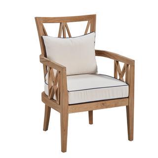 Tristan Teak Outdoor Arm Chair