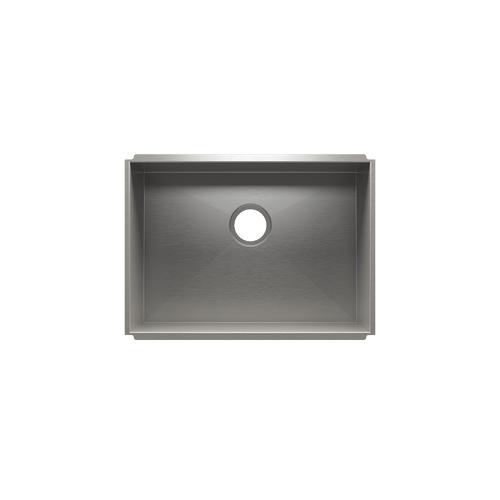 """UrbanEdge® 003666 - undermount stainless steel Kitchen sink , 24"""" × 17"""" × 10"""""""