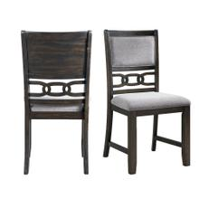 Amherst Standard Height Side Chair Set in Walnut