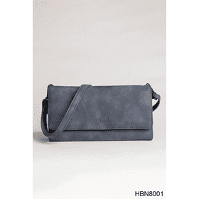 Distressed Crossbody Wallet (4 pc. ppk.)