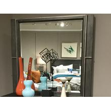 See Details - Mirror with Metal Frame