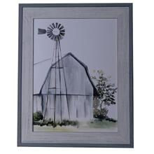 WATERCOLOR BARN 1