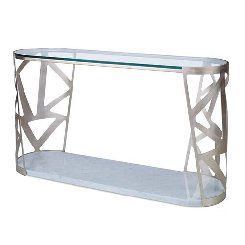Pierced Console Table