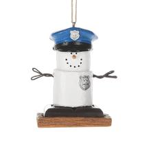 S'mores Policeman Ornament