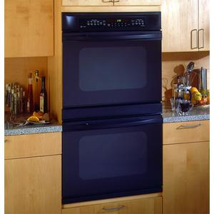 """GE Profile 30"""" Double Wall Oven with Convection Upper Oven and Thermal Lower Oven"""