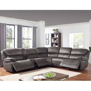 Perry 6-Piece Power Reclining Sectional