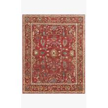 View Product - EU-05 Red / Red Rug