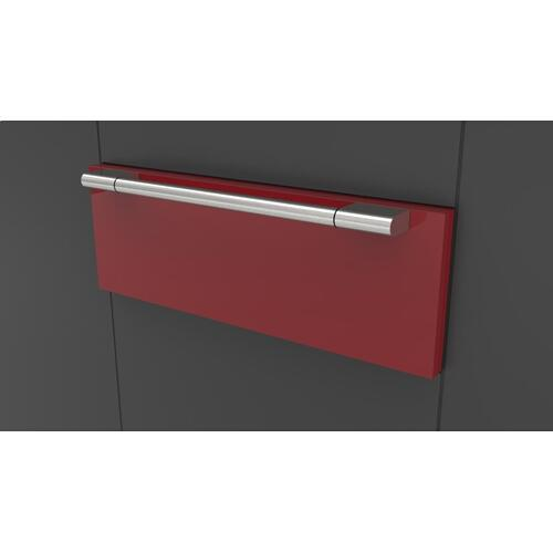 "30"" Pro Warming Drawer - Glossy Red"